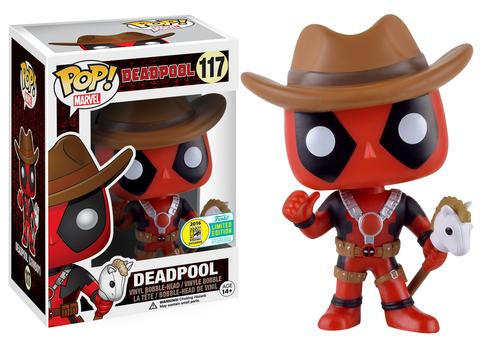 Funko - SDCC 2016 - Exclusive - Funko Pop! - Deadpool - Cowboy
