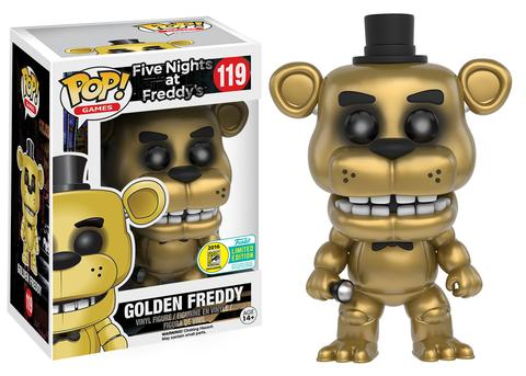 Funko - SDCC 2016 - Exclusive - Funko Pop! - Five Nights at Freddy's - Golden Freddy