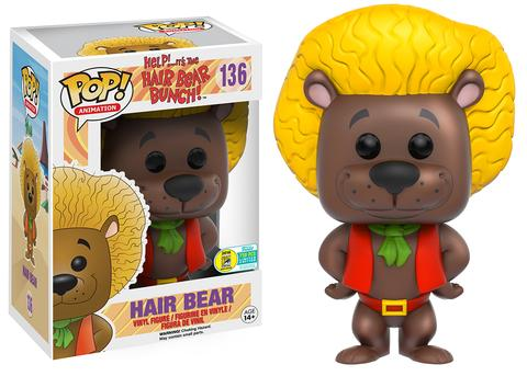 Funko - SDCC 2016 - Exclusive - Funko Pop! - Hair Bear Bunch - Brown