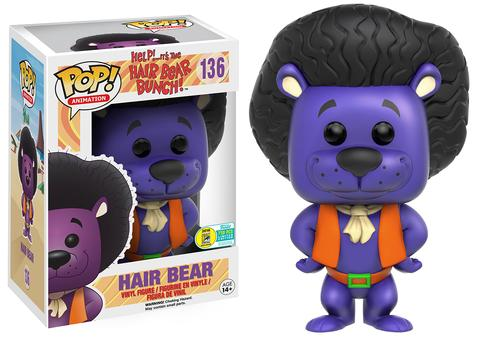 Funko - SDCC 2016 - Exclusive - Funko Pop! - Hair Bear Bunch - Purple