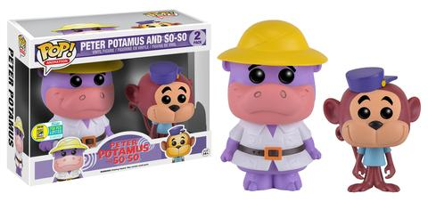 Funko - SDCC 2016 - Exclusive - Funko Pop! - Hanna Barbera - Peter Potamus - So-So - 2-Pack