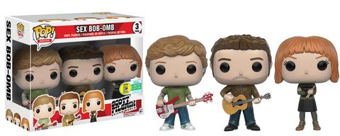 Funko - SDCC 2016 - Exclusive - Funko Pop - Scott Pilgrim - Sex Bob-Omb