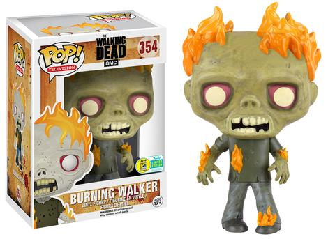 Funko - SDCC 2016 - Exclusive - Funko Pop! - TWD - Burning Walker