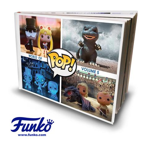 Funko - SDCC 2016 - Exclusive - World of Pop! - Book - Volume 5