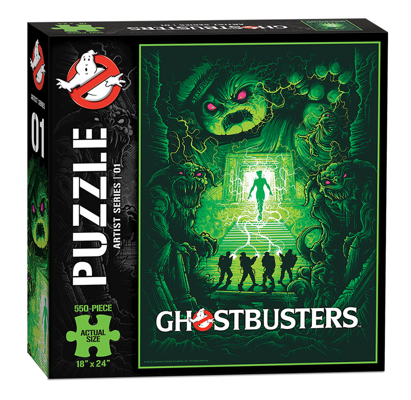Ghostbusters - Artist Series - 01 - Puzzle - Box