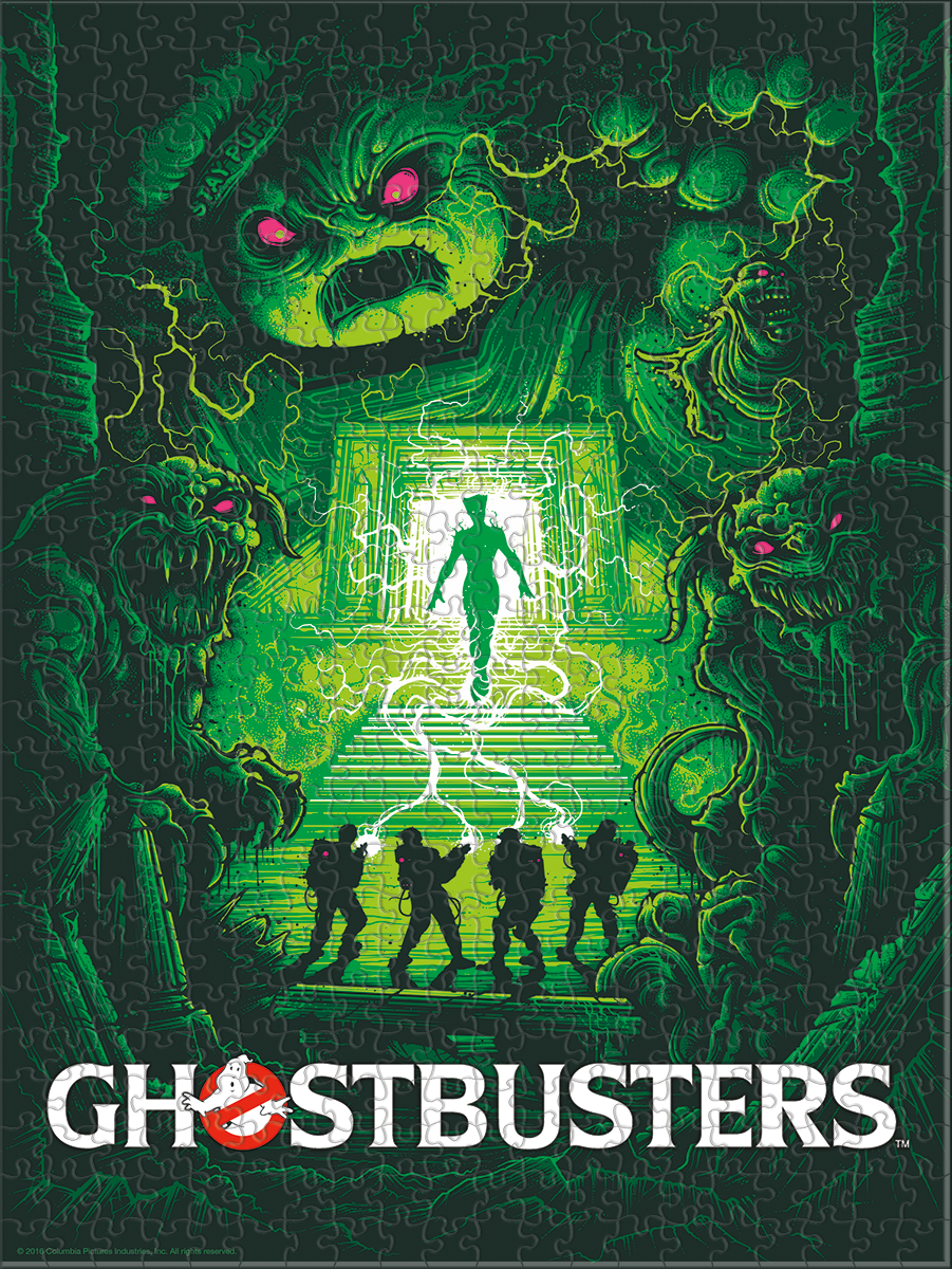 Ghostbusters - Artist Series - 01 - Puzzle
