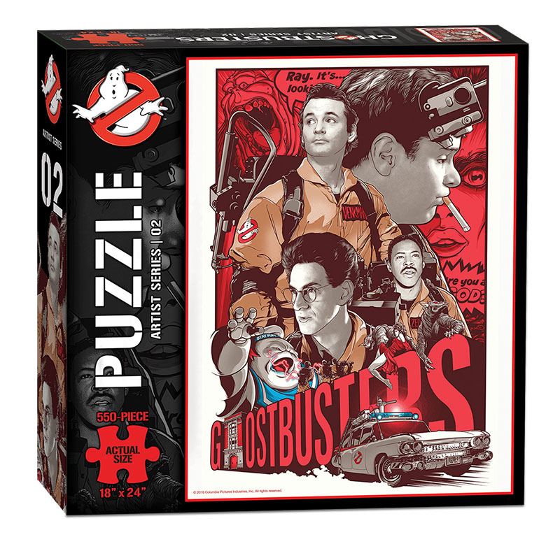 Ghostbusters - Artist Series - 02 - Puzzle - Box