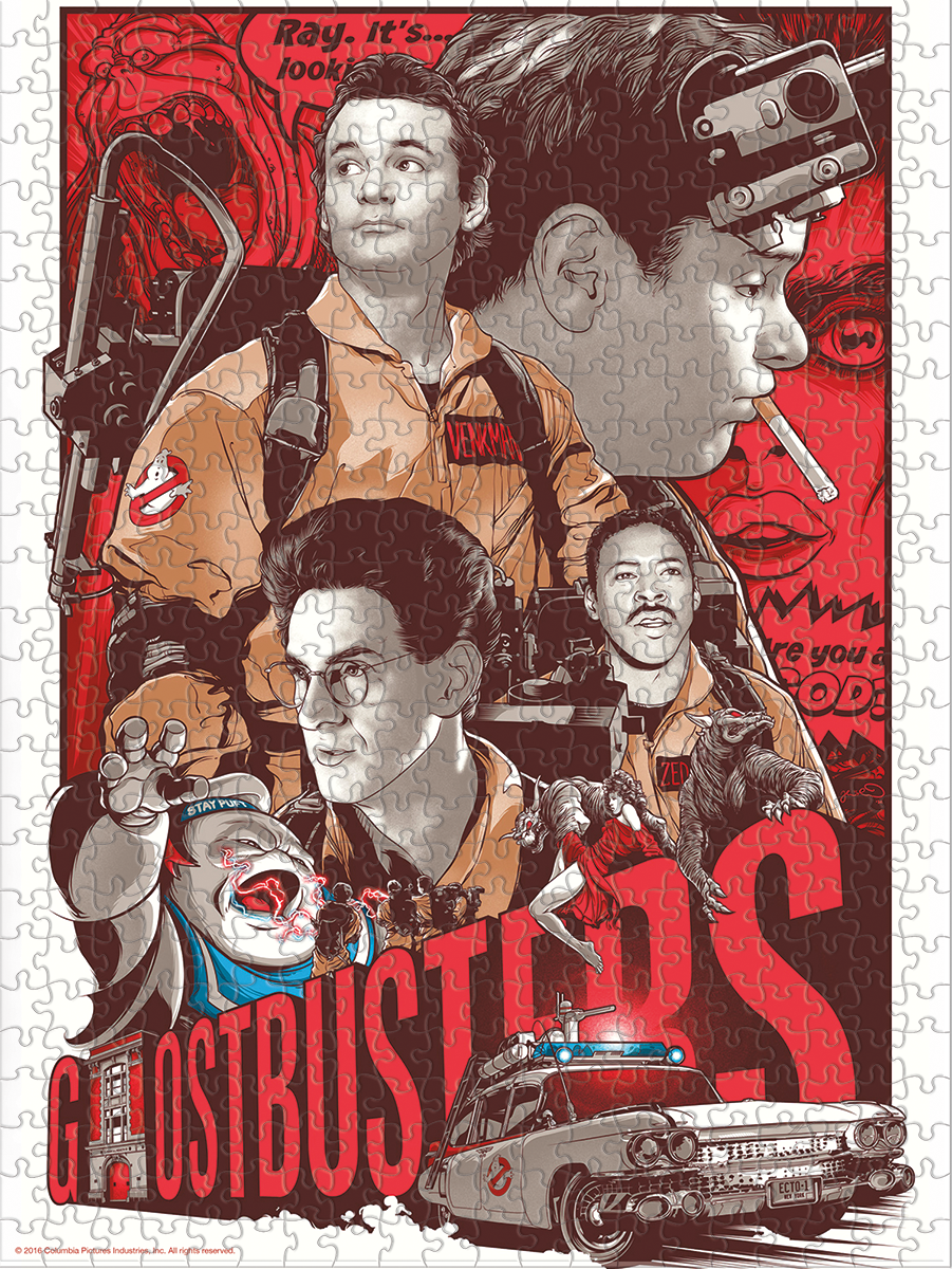 Ghostbusters - Artist Series - 02 - Puzzle