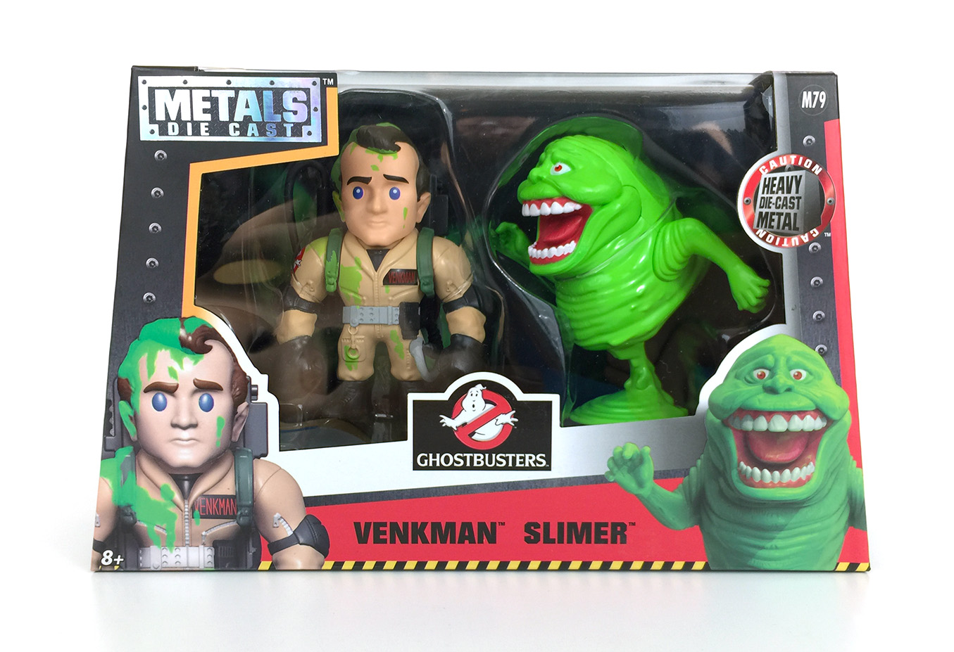 Ghostbusters - Jada - Metals Die Cast - Venkman - Slimer - Twin Pack
