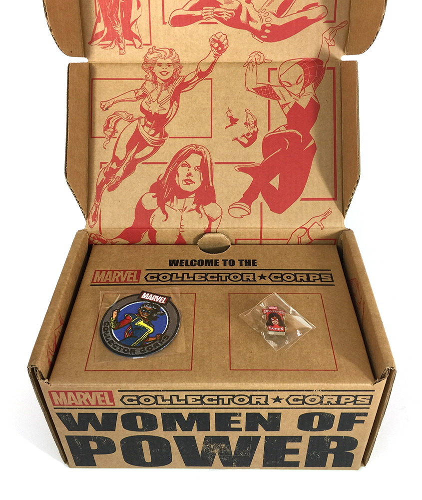 Marvel Collector Corps - Women of Power - Level 1 - Inside Box