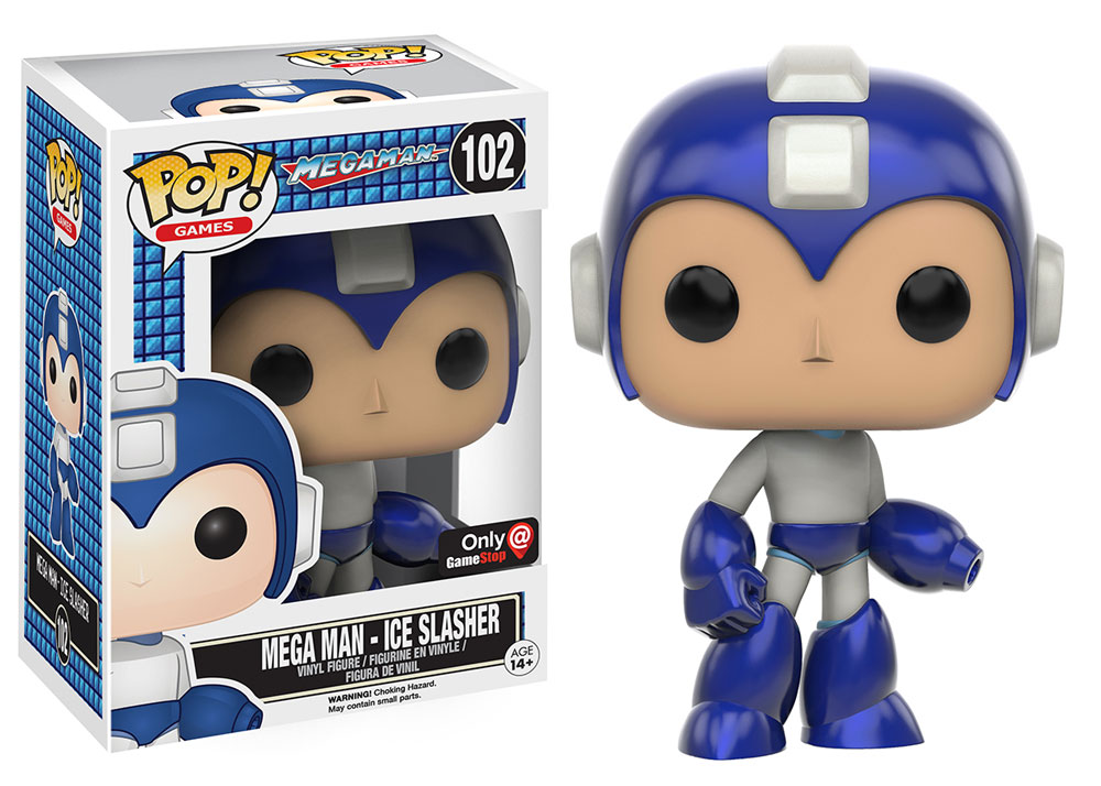 Mega Man - Ice Slasher - Funko Pop! - Game Stop - Exclusive