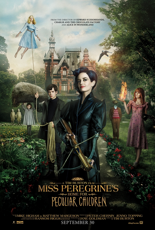 Miss Peregrine's Home for Peculiar Children - Poster