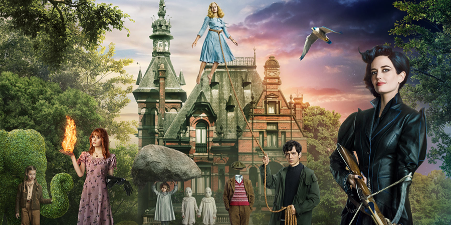 Miss Peregrine's Home for Peculiar Children - Official Trailer Pacific Rim Cover