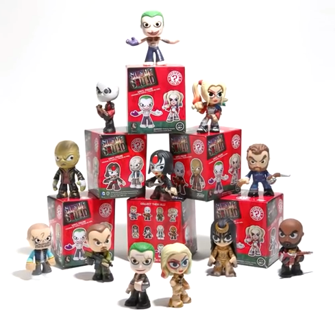 Suicide Squad - Mystery Minis - Funko - Hot Topic - Exclusive