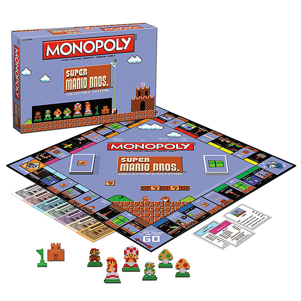 Super Mario Bros Monopoly - All