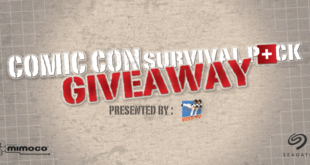 Comic Con Survival Pack Giveaway – 2016