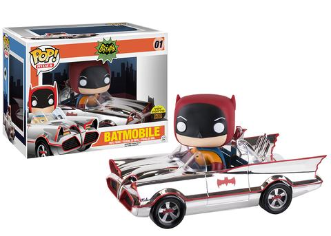 Toy Tokyo - SDCC 2016 - Exclusive - Pop! Rides - Chrome Batmobile