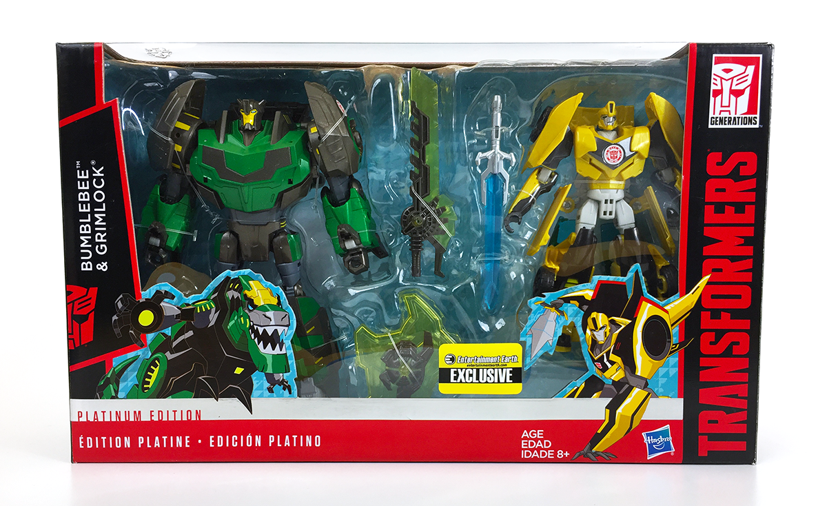 Transformers - EE Exclusive - In Package - Front
