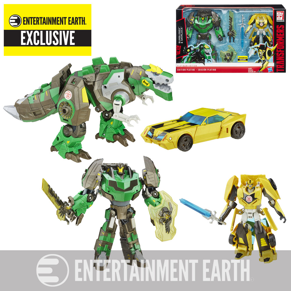 Transformers - Exclusive Set - Entertainment Earth - Official