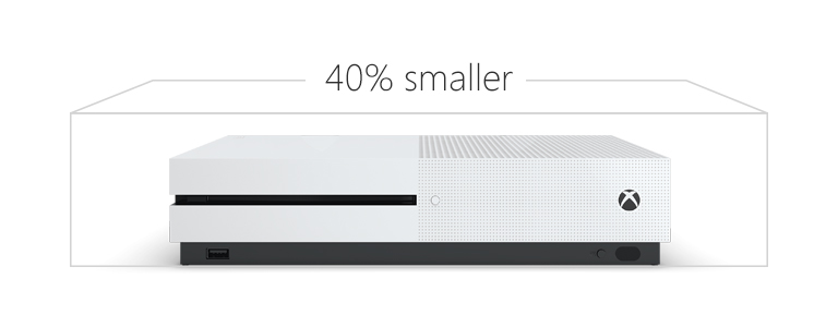 Xbox One S - 40 percent smaller