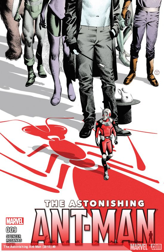 Podcast: S is for Sexy (S02E39) - The Astonishing Ant-Man#9