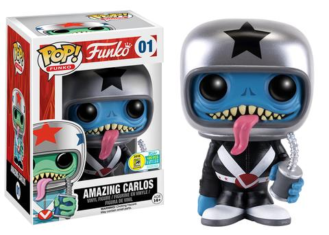 Funko - SDCC 2016 - Exclusive - Funko Pop! - Spastik Plastik - Amazing Carlos - Black