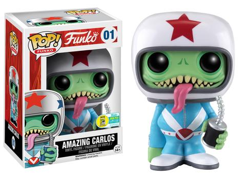 Funko - SDCC 2016 - Exclusive - Funko Pop! - Spastik Plastik - Amazing Carlos - Blue