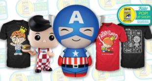 Funko Exclusives – SDCC 2016 – Pop! Up Shop!