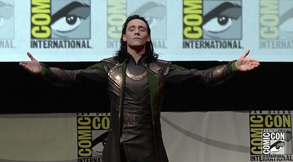 Loki - Hall H - SDCC 2013