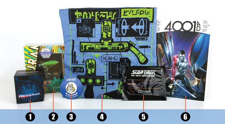 Loot Crate - July - 2016 - numbers