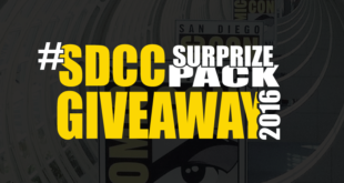 SDCC Surprize Pack Giveaway – 2016