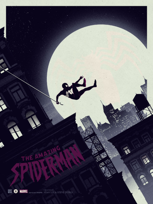The Amazing Spider-Man - Matt Ferguson - Grey Matter Art - Variant