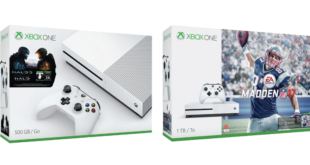 Xbox One S – Madden NFL 17 & Halo Collection Bundles