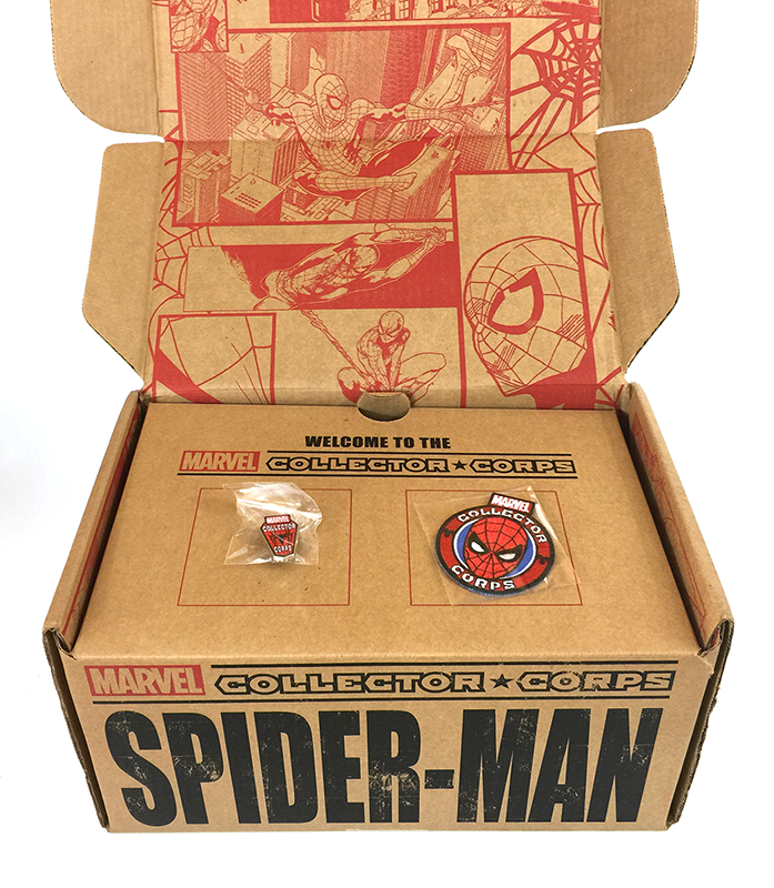 Collector Corps - Spider-Man - Level 1