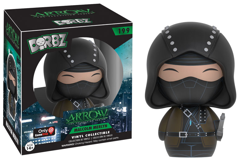 Dorbz - DC TV - Arrow - Malcolm Merlyn - Exclusive