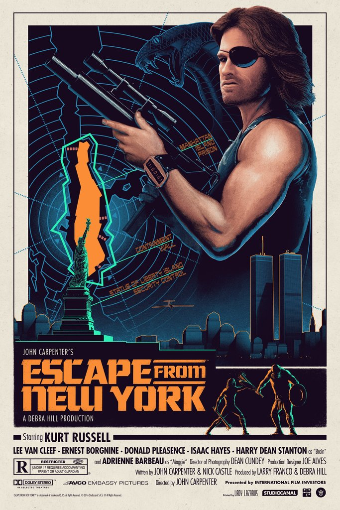 Escape From New York - Ferguson - GMA - Regular Edition