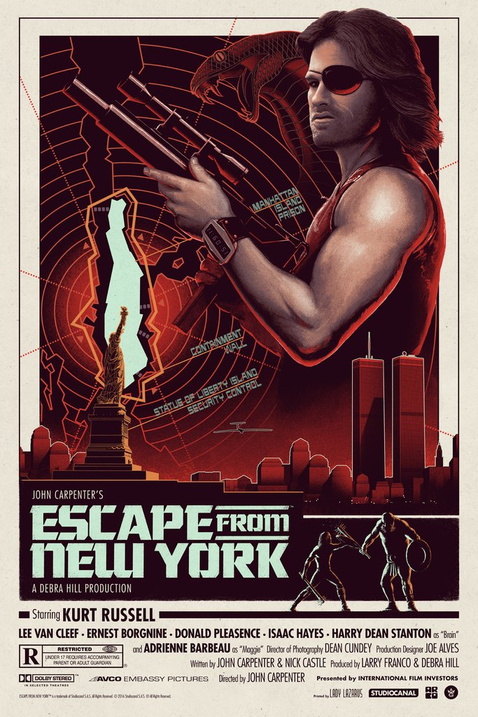 Escape From New York - Ferguson - GMA - Variant Edition