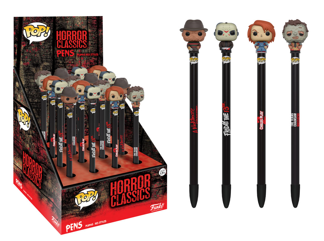 Funko - Pen Toppers - Horror