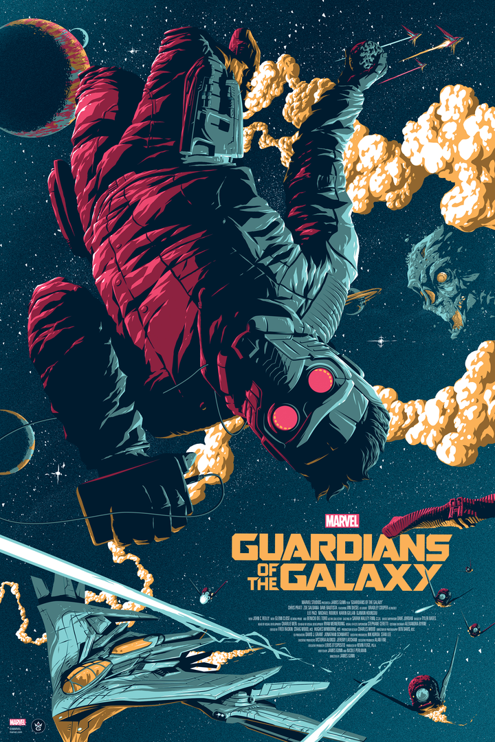 Guardians of the Galaxy - Florey - GMA - Regular Edition - LE 225