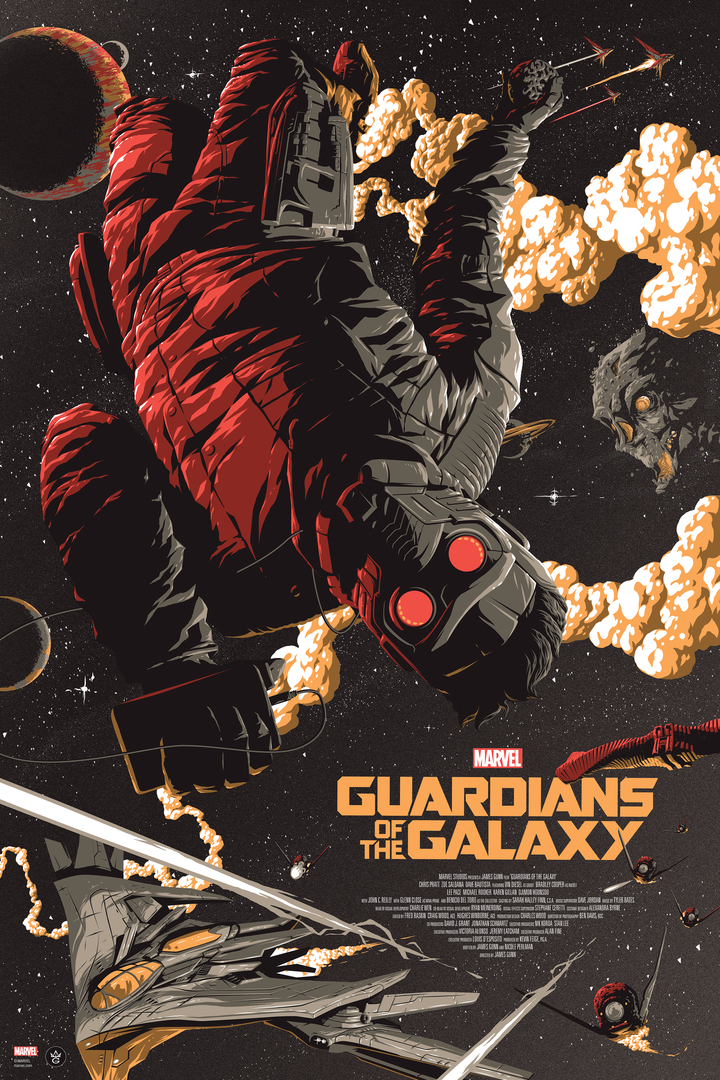 Guardians of the Galaxy - Florey - GMA - Variant Edition - LE 150