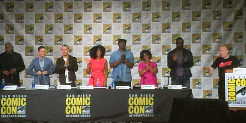 Luke Cage In Ballroom 20 - SDCC 2016