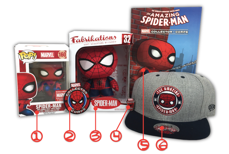 MCC - Spider-Man - Contents - Numbered