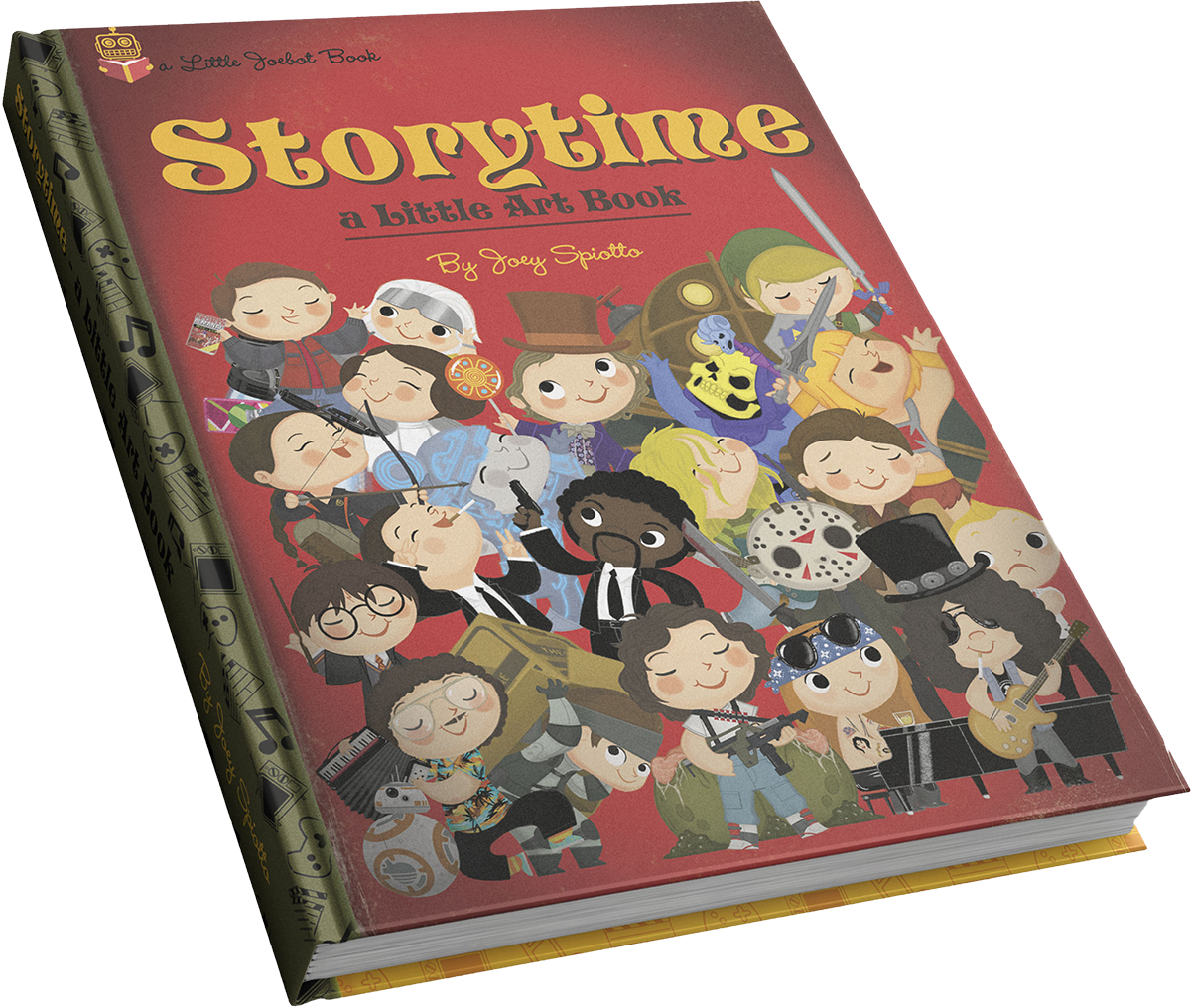 Storytime - A Little Art Book - Joey Spiotto - Hardcover