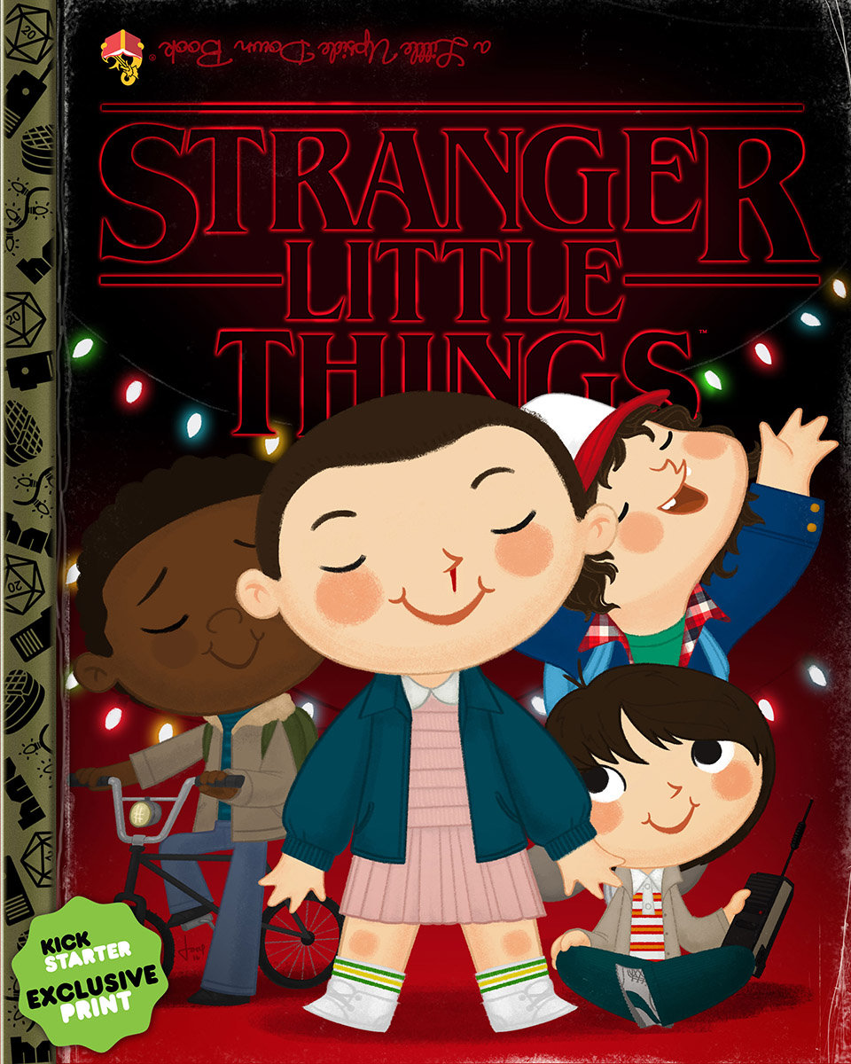 Stranger Little Things - Exclusive Print - Joey Spiotto