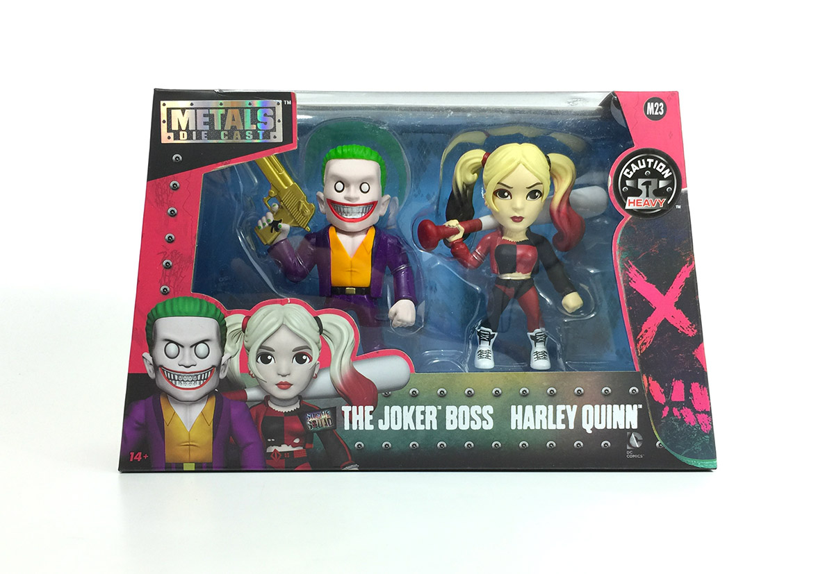 Suicide Squad - Jada - Metals Die Cast - 2-Pack - Harley - The Joker Boss