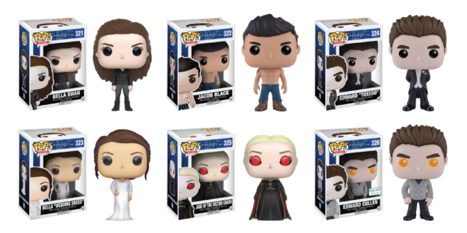 'Twilight' Funko Pop!s Coming Soon - Available for Pre ... Pacific Rim Cast