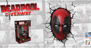 Deadpool - 3D Deco Light Giveaway - Cover