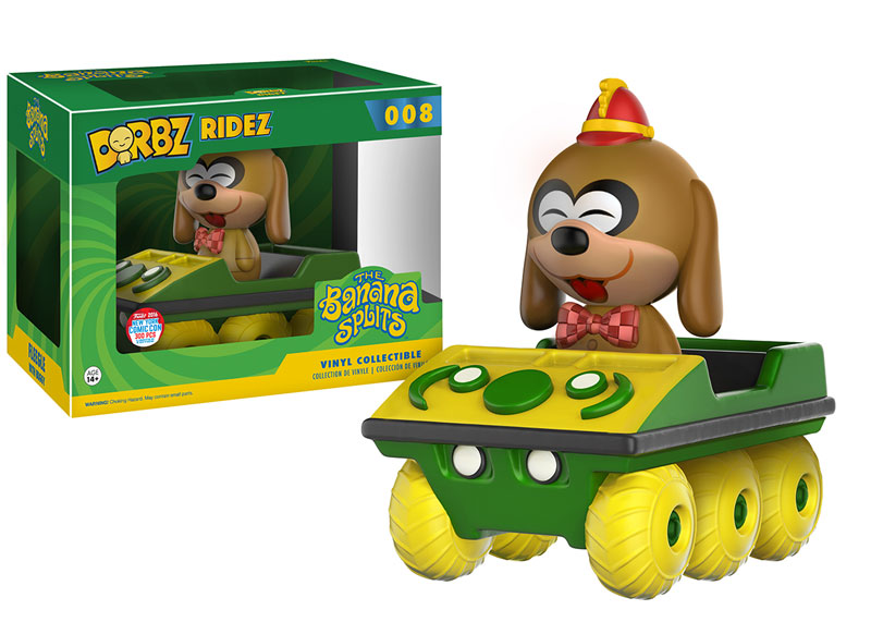 Funko - NYCC Exclusive - Dorbz Ridez - Banana Splits - Fleegle