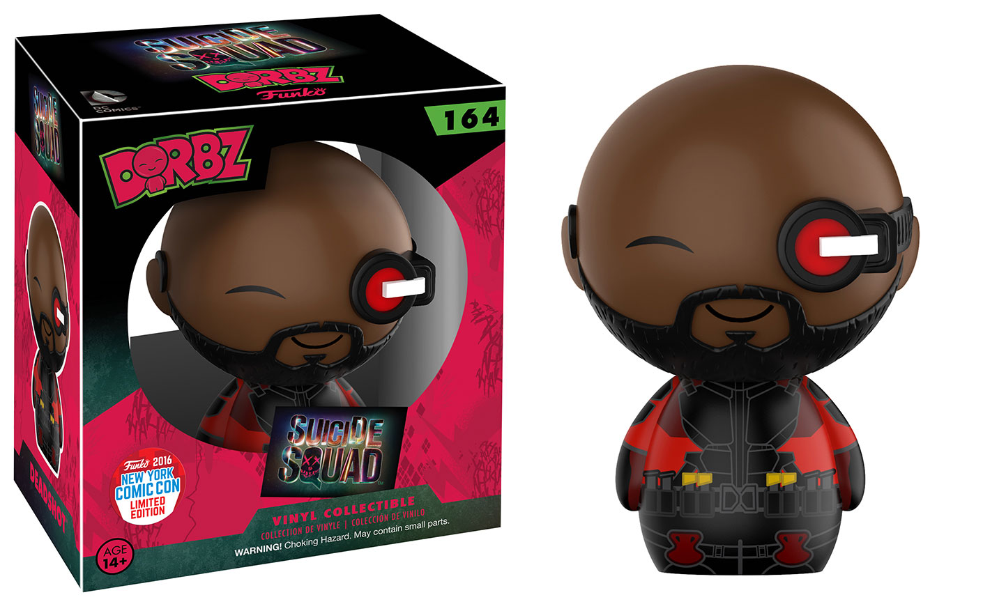 Funko - NYCC - Exclusive - Dorbz - Suicide Squad - Deadshot with Eye Scope