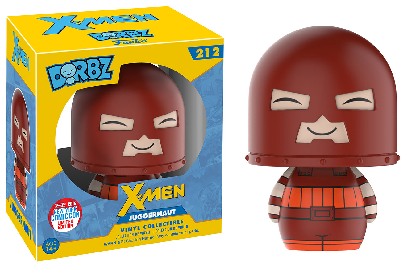 Funko - NYCC 2016 - Exclusive - Dorbz - X-Men - Juggernaut